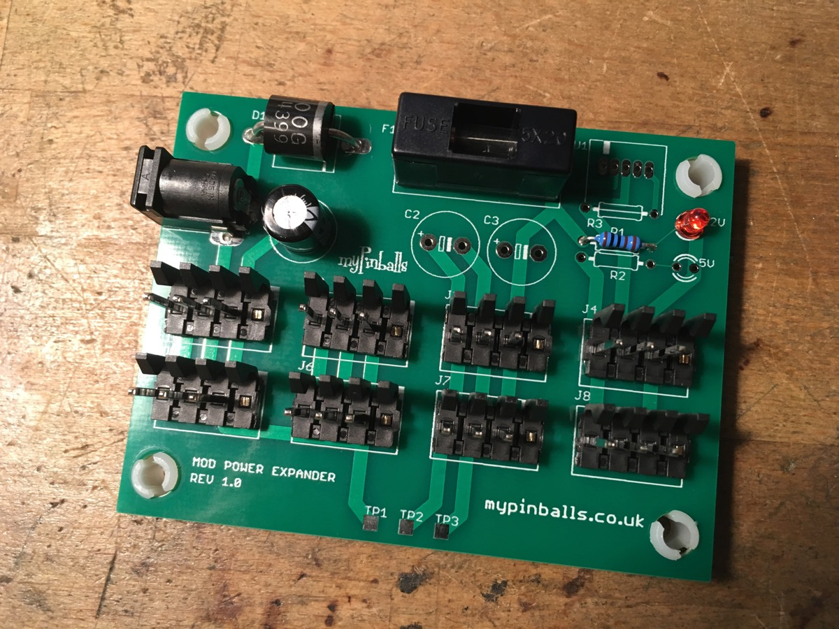 WPC Mod Power Expander Board