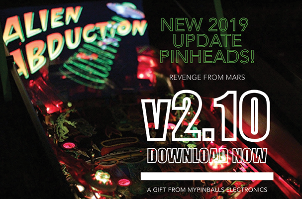 Adventures in Pinball - Revenge From Mars Software Update v2.10 - Free Download